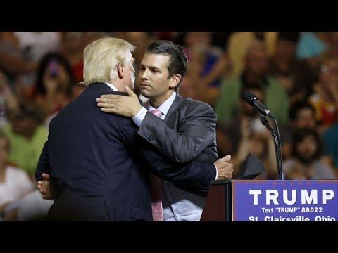 Trump Jr. Denies Telling Dad Before Meeting Russians at Trump Tower