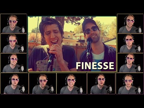 Finesse - Bruno Mars (Acapella Cover ft. RYYZN & Mr Dooves)
