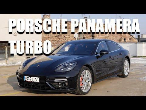 Porsche Panamera Turbo 2017 (PL) - test i jazda próbna