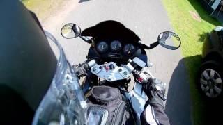 Ritje ommen op de motor