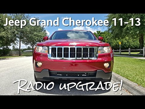 Jeep Grand Cherokee 11-13 [Installation & Review] Radio Updrade - Aftermarket - GPS - Touch Screen