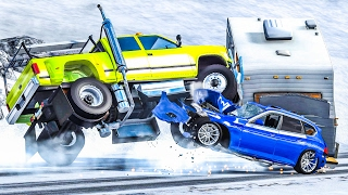 EXTREME CRASHES #4 - BeamNG Drive