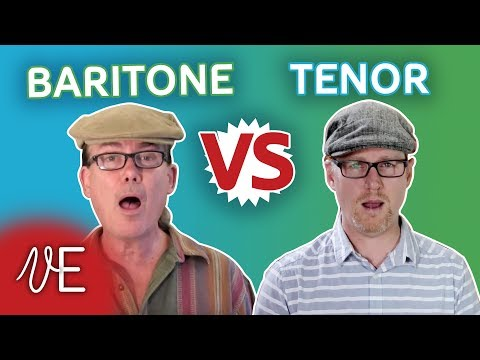 Difference between a TENOR and a BARITONE | with Mark Baxter | #DrDan