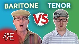 �������� ���� Difference between a TENOR and a BARITONE | with Mark Baxter | #DrDan ������