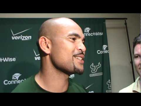 USF receiver Coach Jerome Pathon