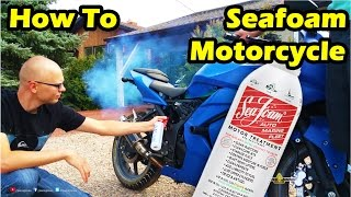 How to Put Seafoam in a Motorcycle - Ninja 250