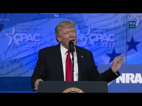 President Trump Delivers Remarks at CPAC