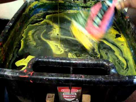 Motorcycle engine cover swirl youtube for How much to paint a motorcycle