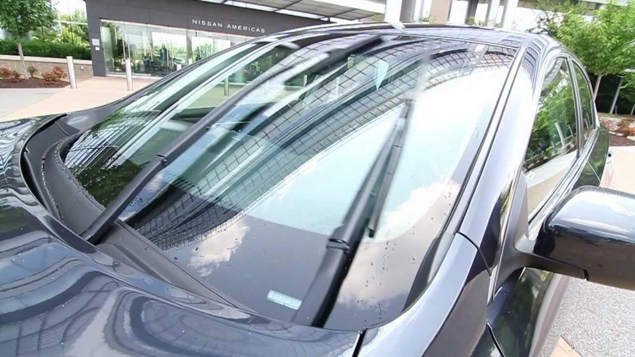 2013 nissan altima windshield wiper innovation - youtube