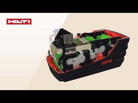 Baterías Hilti - Funcionamiento