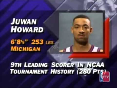 Juwan Howard - 1994 NBA Draft