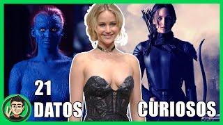 21 Datos Que NO CONOCIAS Sobre Jennifer Lawrence (Mystique X-Men Apocalypse) | ZomByte