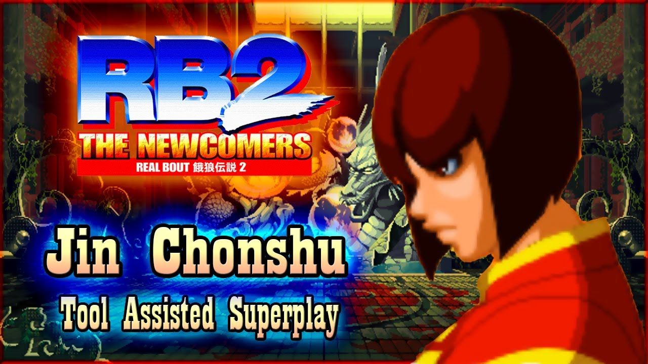 【TAS】REAL BOUT 2: THE NEW COMERS (PS2) - JIN CHONSHU