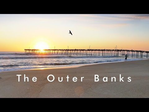 The Outer Banks/ Nags Head-Fishing Pier& Alligator River 4K
