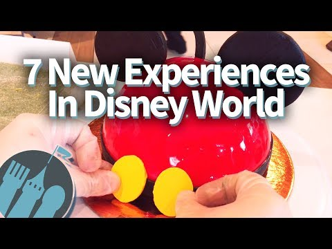 7 New Disney World Experiences You've Gotta Try!!