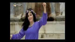 Kadriye Saruhan-Mavili Mor Çiçek