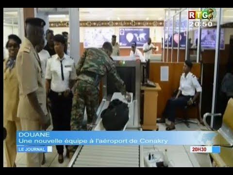 www.guineesud.com - Aéroport Conakry - La Douane renouvelle son unité : le 21.11.2017