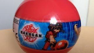 Surprise Eggs Unboxing Bakugan