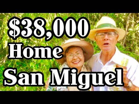 $38,000 Home San Miguel de Allende Ex Pats Retire On Social Security