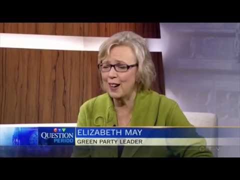 Elizabeth May Exposes Harper's Big Lie on Terror Bill