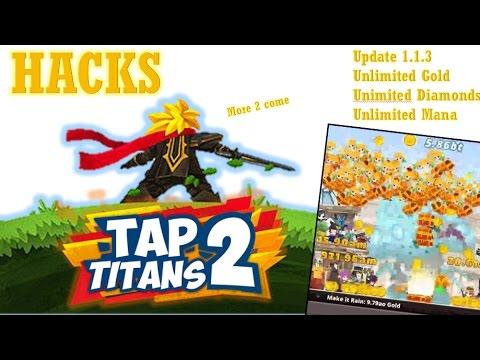 [Tap Titans 2 Hack] Unlimited Diamonds + Gold + Mana ...