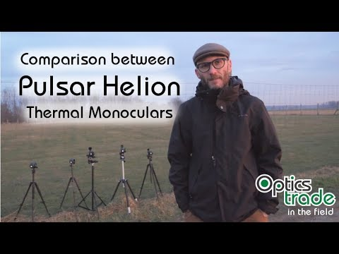 Comparison Between Pulsar Helion Thermal Monoculars | Optics Trade In The Field