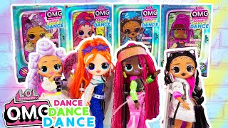 OMG DANCE SERIES, Dance Machine, Dance Series Balls FULL UNBOXING!