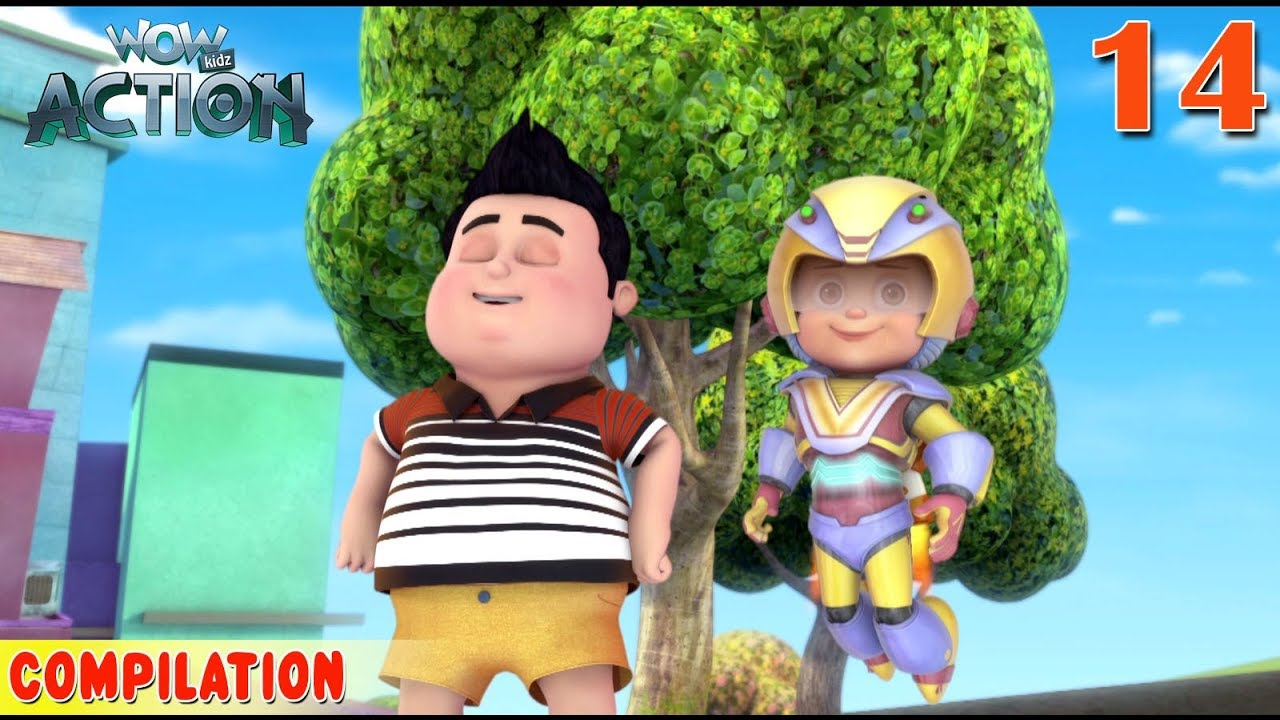 Download Vir : The Robot Boy   Vir Action Collection - 14   Action series   WowKidz Action