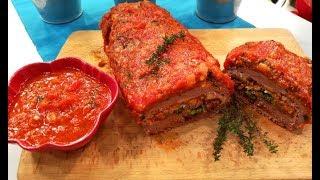 Baixar Rolo de carne recheado com legumes | Praça da Alegria | RTP