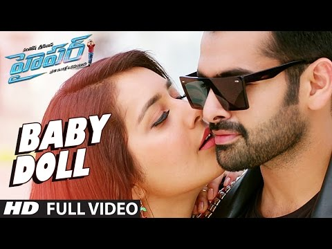 Baby Doll Full Video Song | Hyper | Ram Pothineni, Raashi Khanna, Ghibran | Telugu Songs 2016