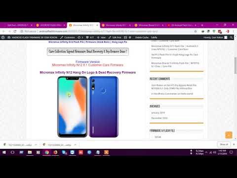 micromax mobile flash file - Myhiton