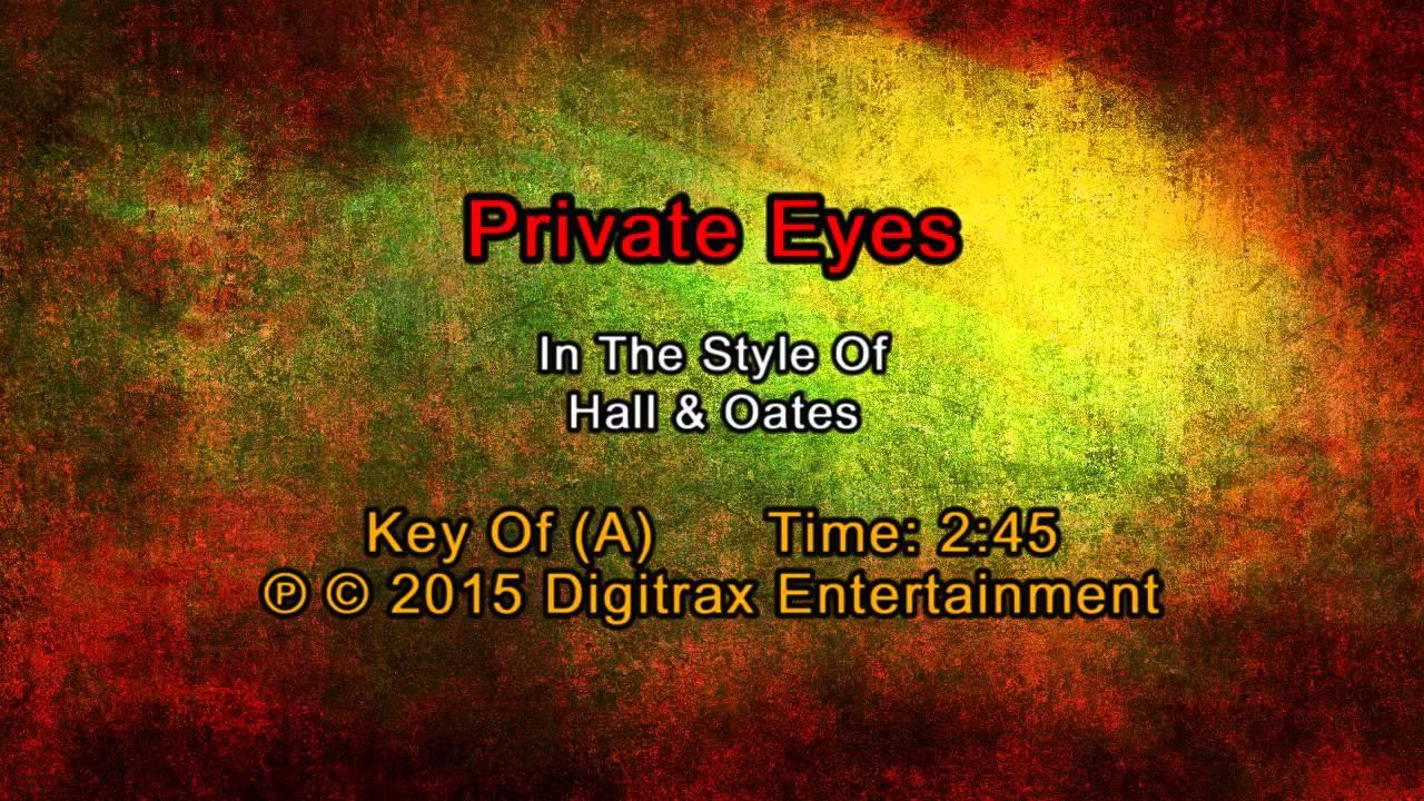 hall oates private eyes backing track youtube. Black Bedroom Furniture Sets. Home Design Ideas
