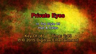 Hall & Oates - Private Eyes (Backing Track)