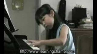 "Ethel Poh (6-year-old) - ""Summer"" composed by Joe Hisaishi"