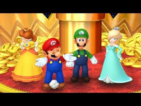 Mario Party 10 Coin Challenge - Luigi Vs Mario Vs Daisy Vs Rosalina   GreenSpot