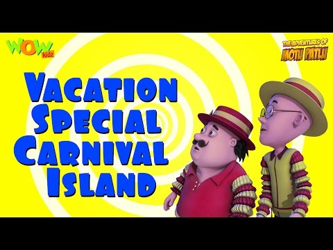 Motu Patlu Vacation Special - Carnival Island - Compilation - As seen on Nickelodeon thumbnail