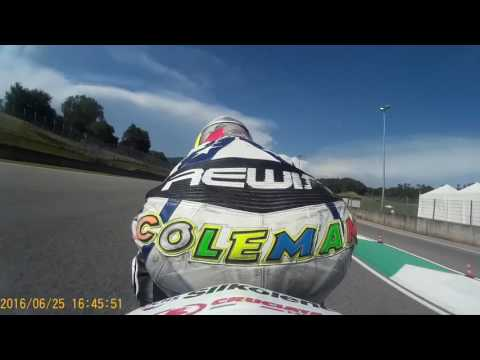 Mugello on board con Michael Coletti