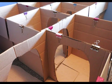 Thumbnail: HOW TO MAKE A BOX MAZE FOR KIDS: CRAFTS FOR KIDS! | BOX HOUSE FOR KIDS