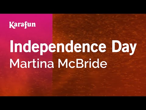 Karaoke Independence Day - Martina McBride *