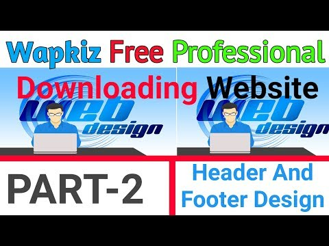 How To Make Free Php Website In Hindi 2018 || Header Footer