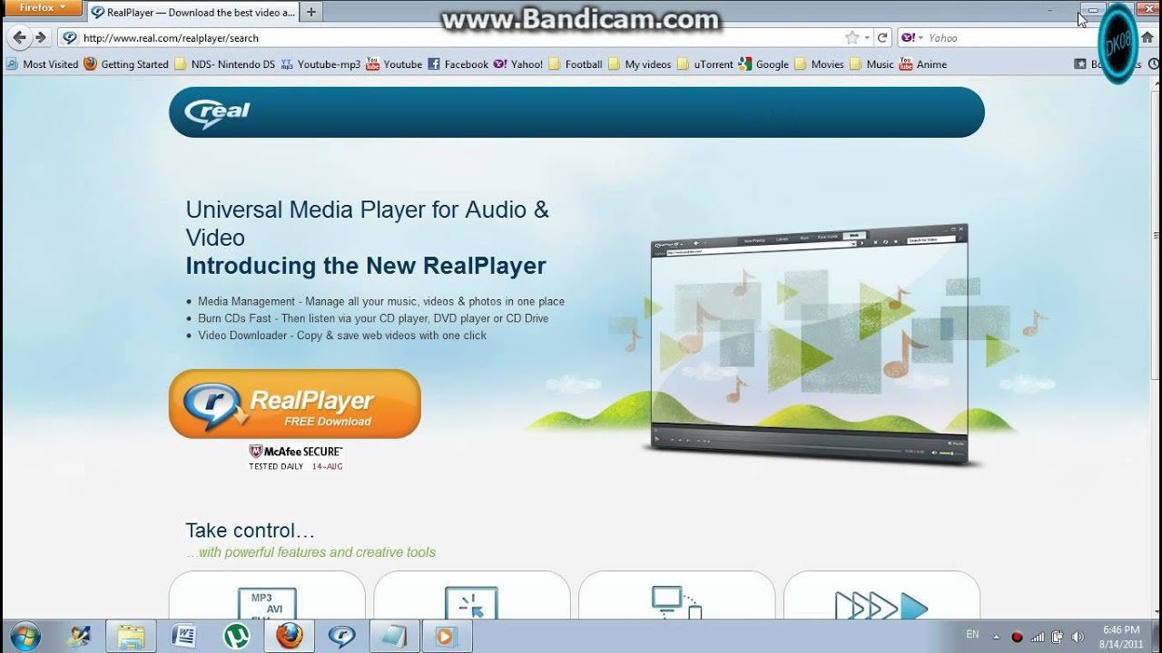 Real player free download youtube ccuart Image collections