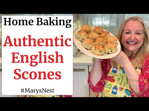 How To Make Scones - Easy Traditional English Scones Recipe