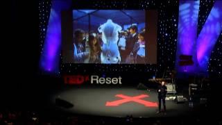 Interactive landscapes: Daan Roosegaarde at TEDxReset 2013
