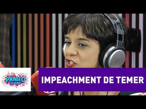 Um impeachment do Temer não vai prosperar, acredita Vera Magalhães