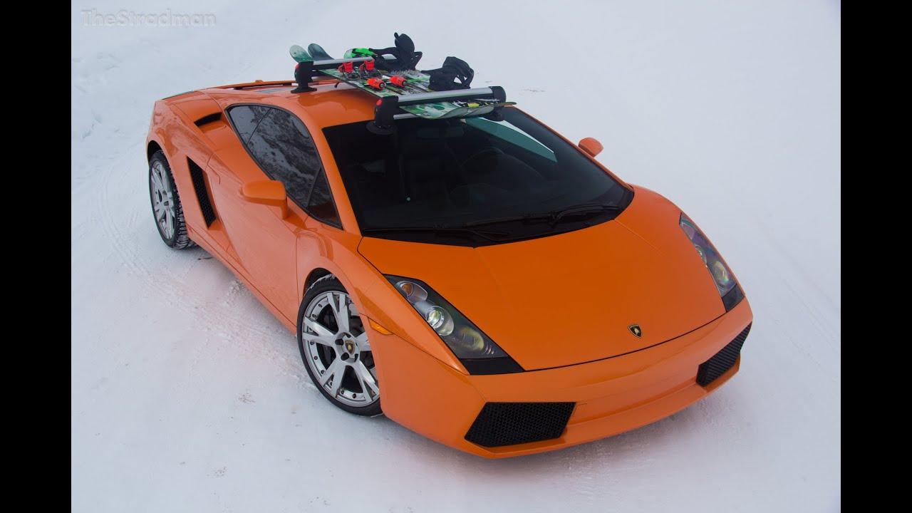 I Got Sea Sucker Ski Racks For My Lamborghini Youtube