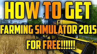 How to get Farming Simulator 2015 (Updated 2016) (No Torrent)(Thank you for watching my video! Tell me in the comments what tutorial you want to see next! Farming Simulator: http://adf.ly/1YCzE0 WinRAR: ..., 2016-03-12T06:05:06.000Z)