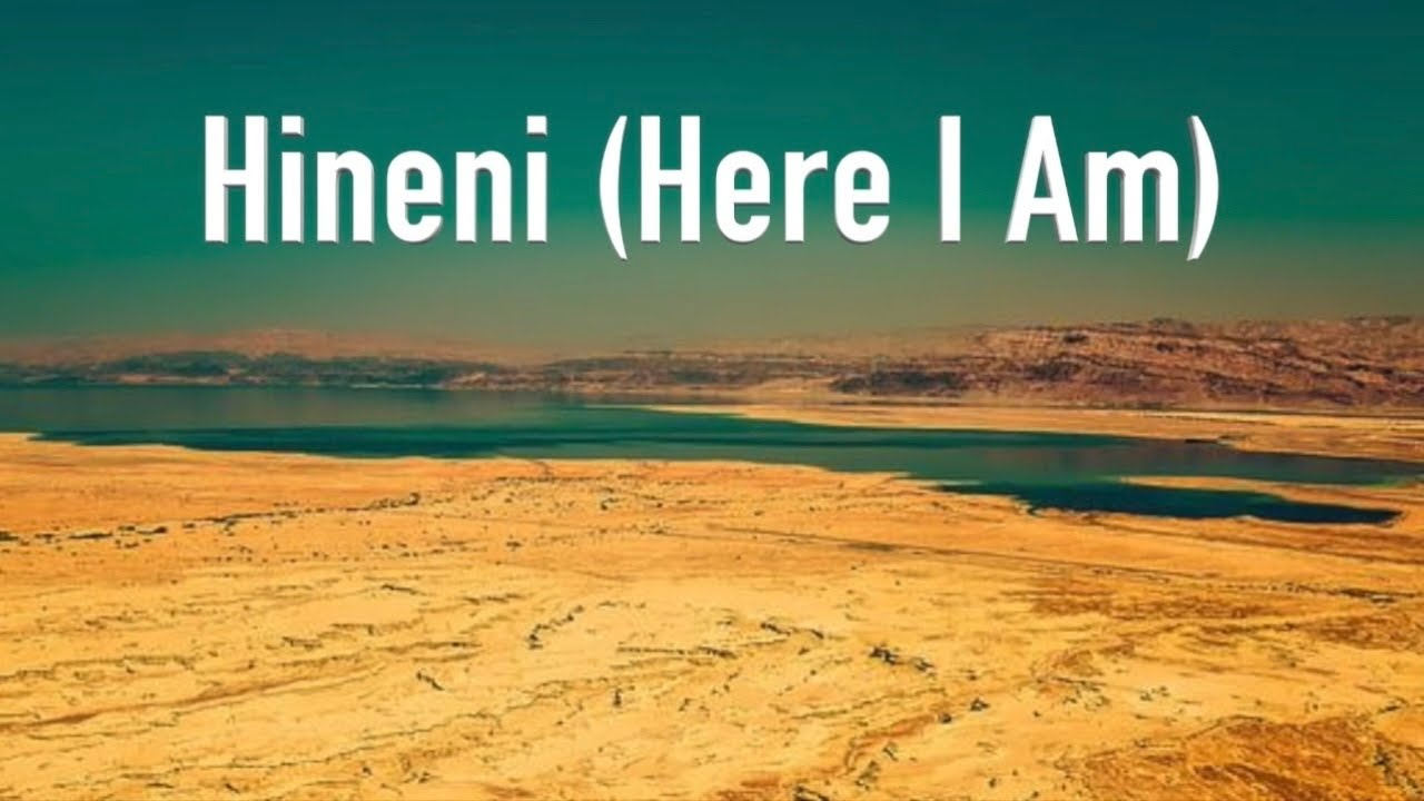 """Hineni   Prayers of the Testaments™ God's Words   High Holiday Series """"The Great Shofar is Sounded"""""""