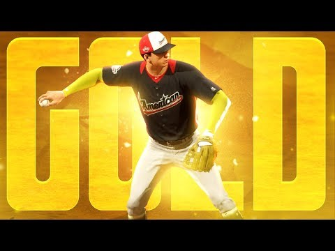 NEW GOLD CUSTOM GEAR FOR ALL STAR GAME! MLB The Show 18 Road To The Show