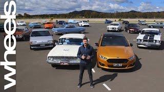 Ford Falcon XY to FG: Behind the Scenes | Wheels Plus | Wheels Australia