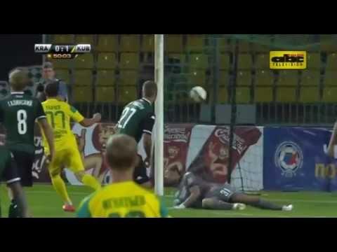 Gol de Lorenzo Melgarejo para Kuban Krasnodar vs. FC Krasnodar - Premier League rusa